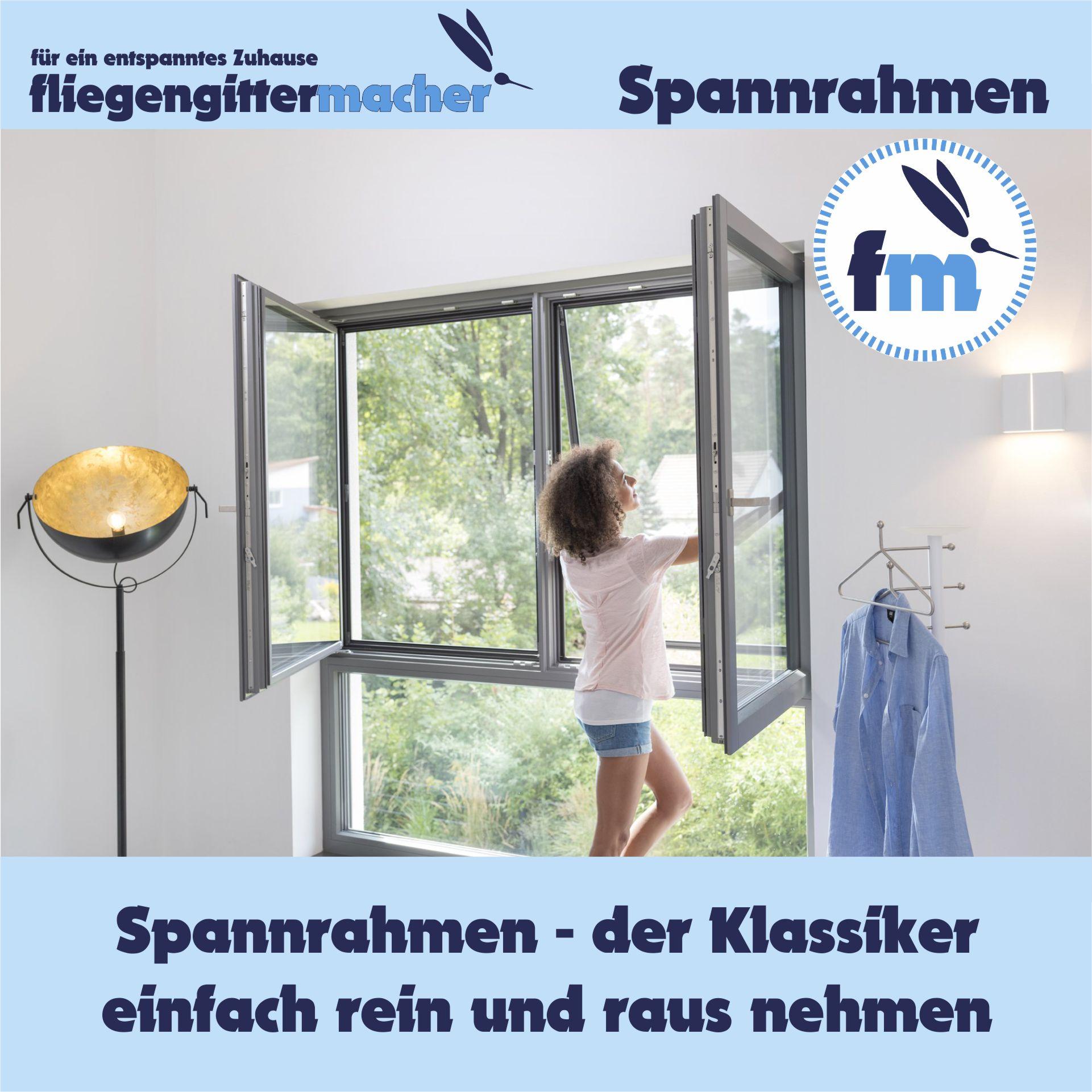 Insektenschutz Spannrahmen   www.fliegengittermacher.de   Fliegengitter nach Maß